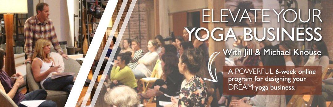 build your yoga business coaching