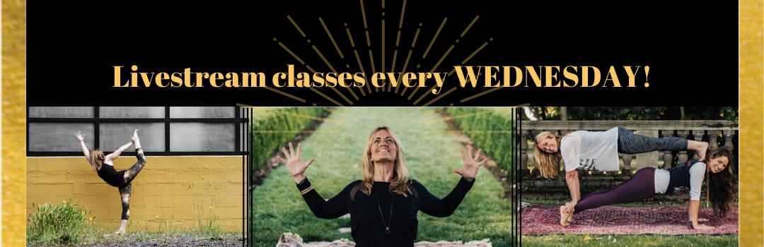 Jill Knouse Yoga live streaming